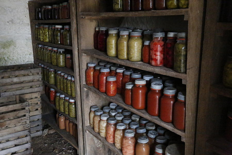 Canned Photograph - Stocked by Jeff Roney