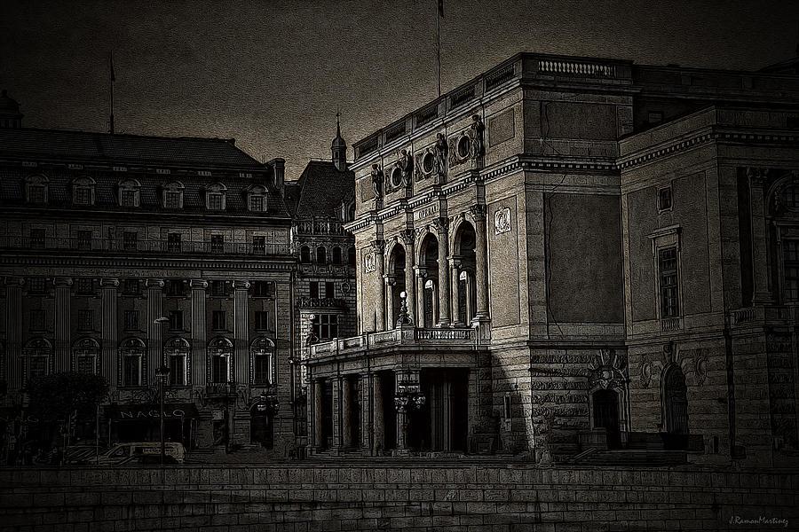 The Royal Swedish Opera by Ramon Martinez