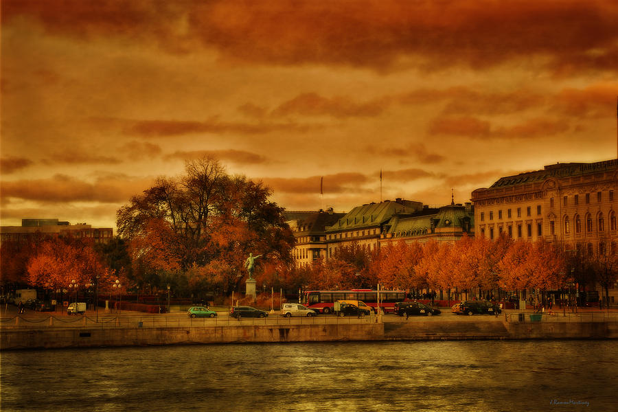 Stockholm in Autumn VI by Ramon Martinez