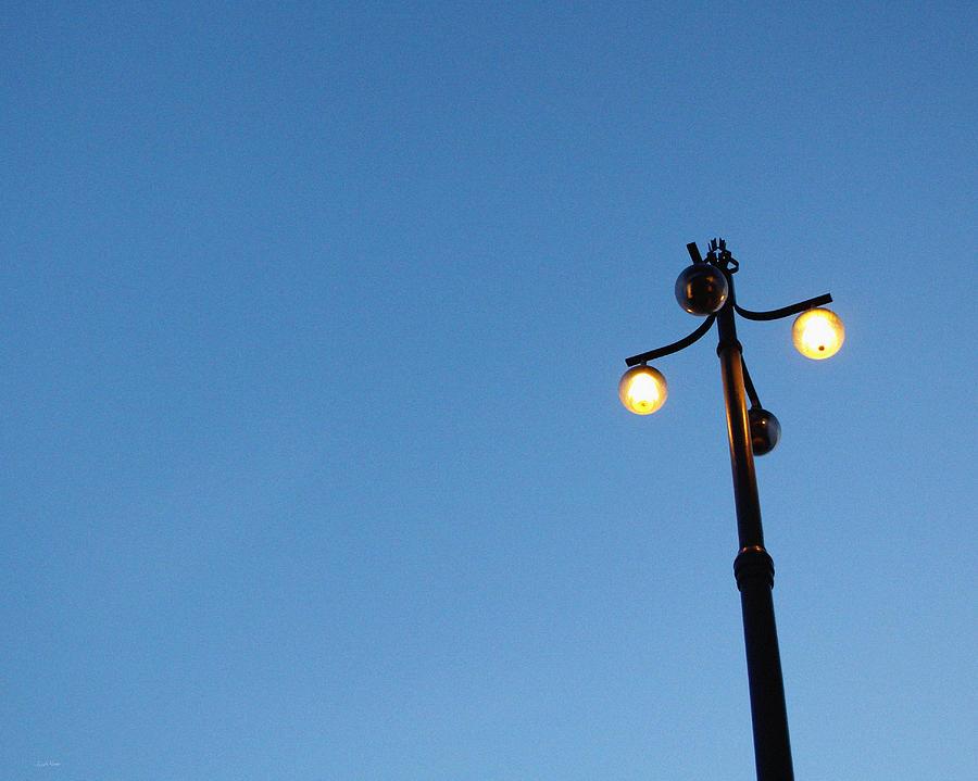 Stockholm Street Lamp Photograph