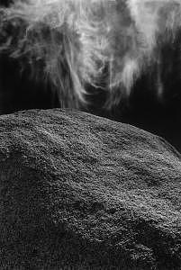 Stone And Sky  1979 Photograph by John Wimberley