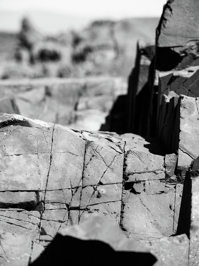 Rocks Photograph - Stone Architecture by Trance Blackman