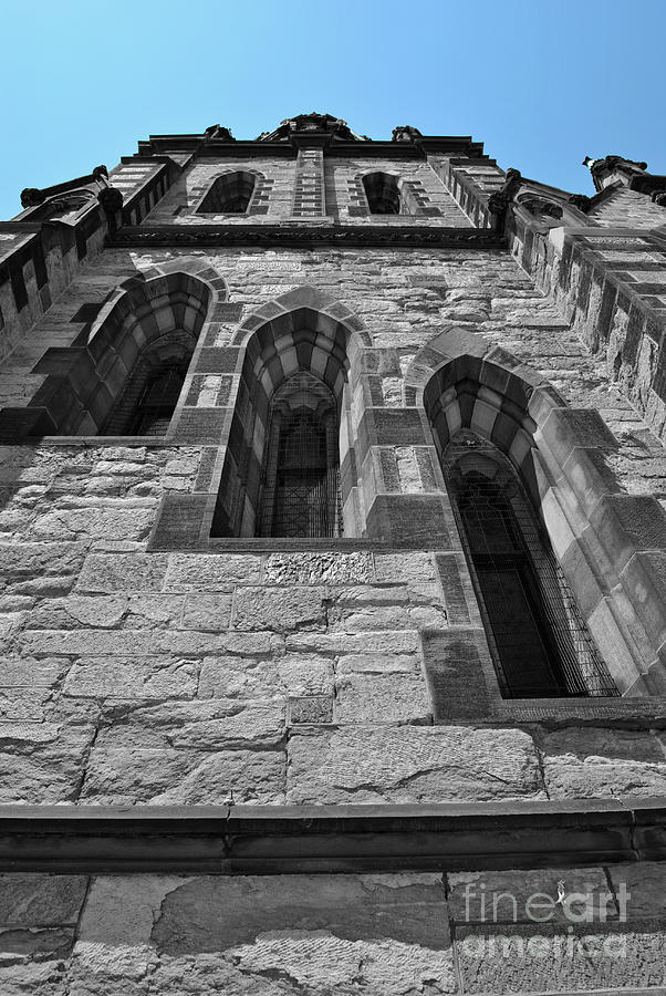 Baltimore Photograph - Stone Blue by Jost Houk