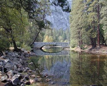 Stone Bridge Photograph - Stone Bridge by Richard Nodine