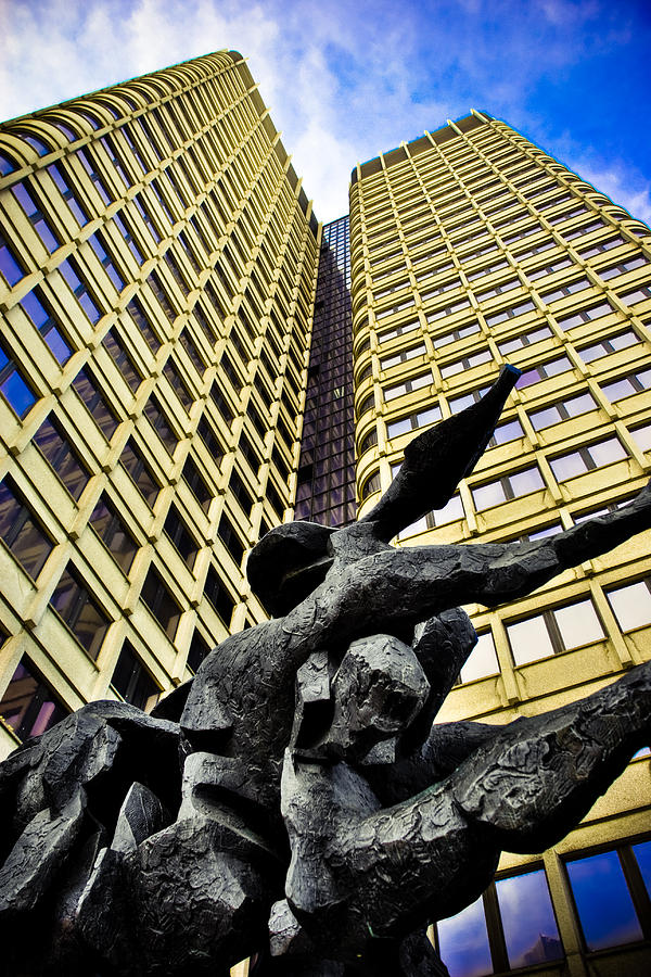 Boston Photograph - Stone Forms by Andrew Kubica