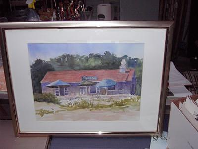 Stone House Painting by Maureen Wilkinson
