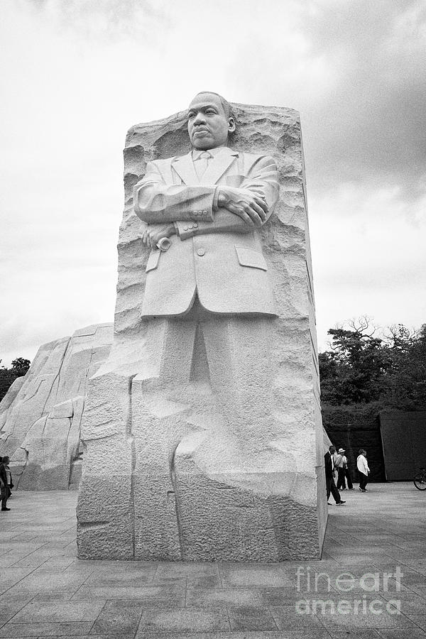 Stone Of Hope At The Martin Luther King Jnr Memorial Washington Dc
