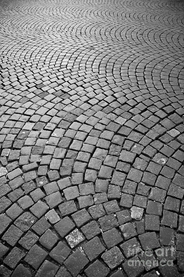 Stone Pavement Photograph - Stone Pavement by Hideaki Sakurai