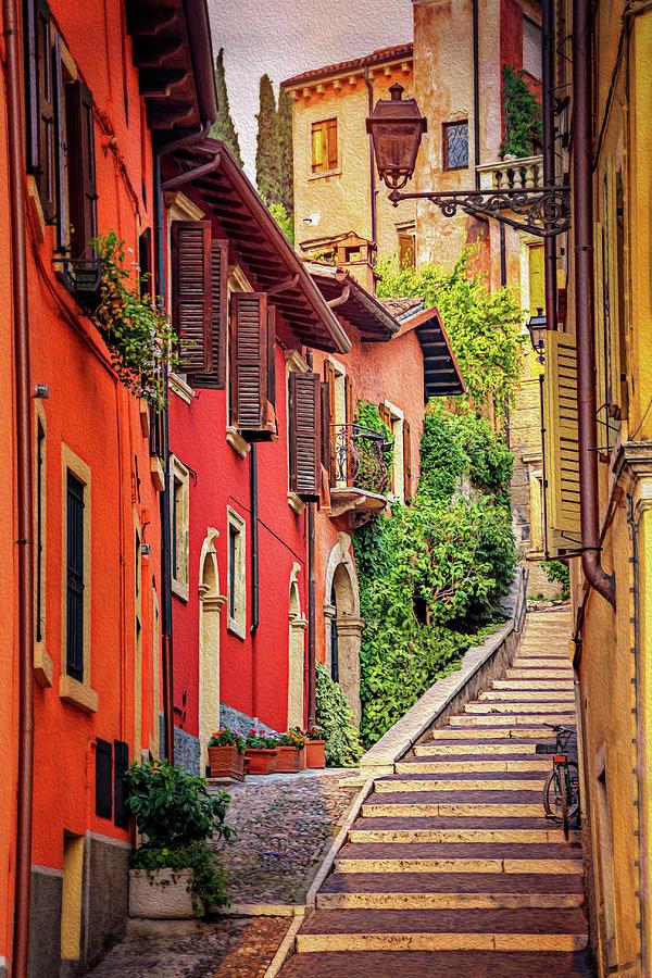 Verona Photograph - Stone Steps In Verona Italy  by Carol Japp