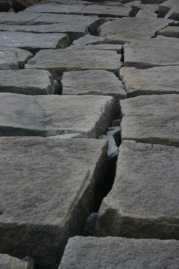 Landscape Photograph - Stone Walk by Dennis Curry