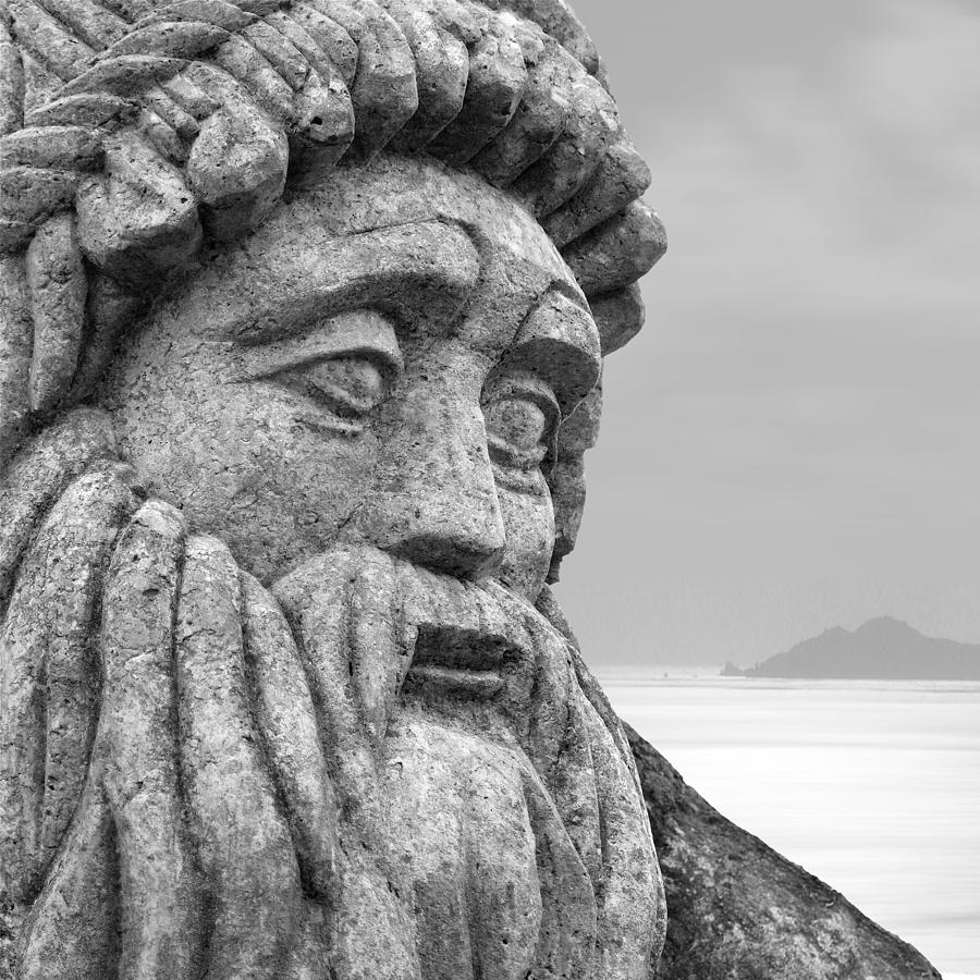 Statue Photograph - Stoned In Ireland by Mike McGlothlen