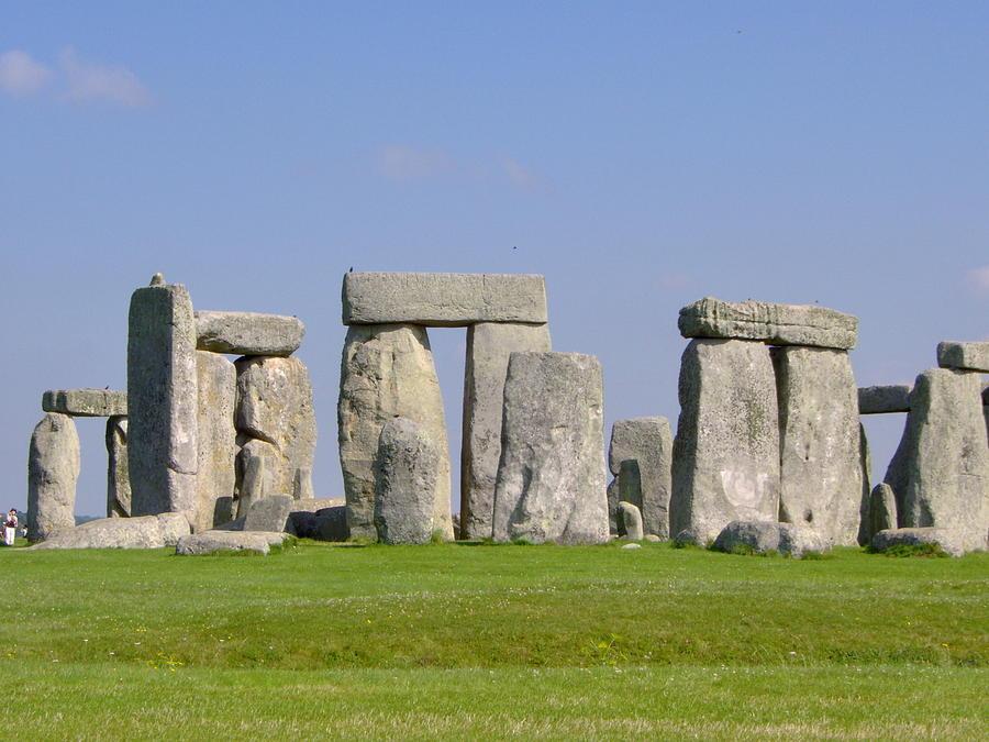 Stonehenge Photograph - Stonehenge Morning by Bernadette Wulf