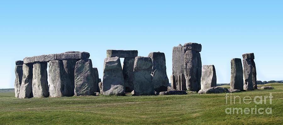 Stonehenge Prehistoric Monument Photograph