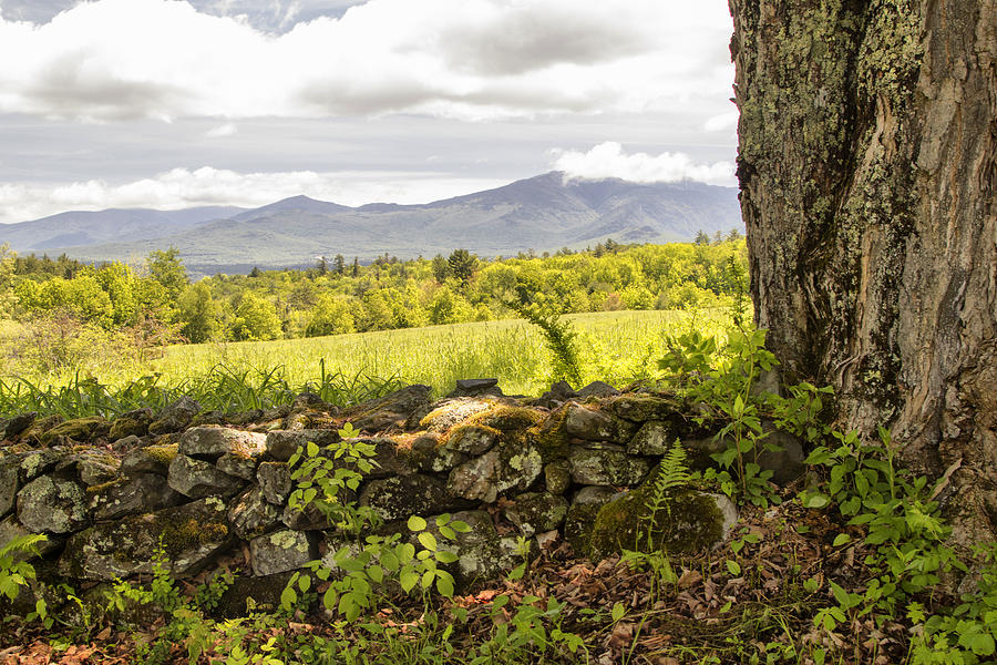 Scenic Photograph - Stonewall And Cannon Mountain by Betty  Pauwels