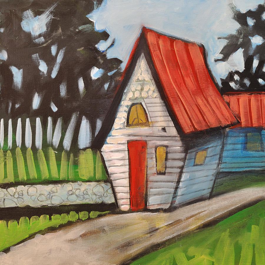 Cottage Painting - Stonewall Cottage by Tim Nyberg