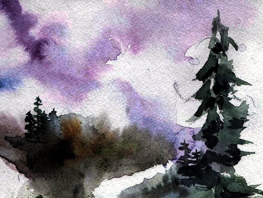 Tree Painting - Stoney Creek by Anne Duke
