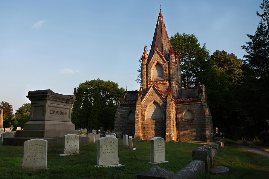 Stonington Ct Cemetery Photograph