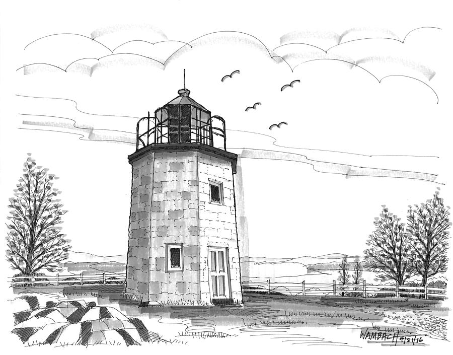 Stony Point Lighthouse by Richard Wambach