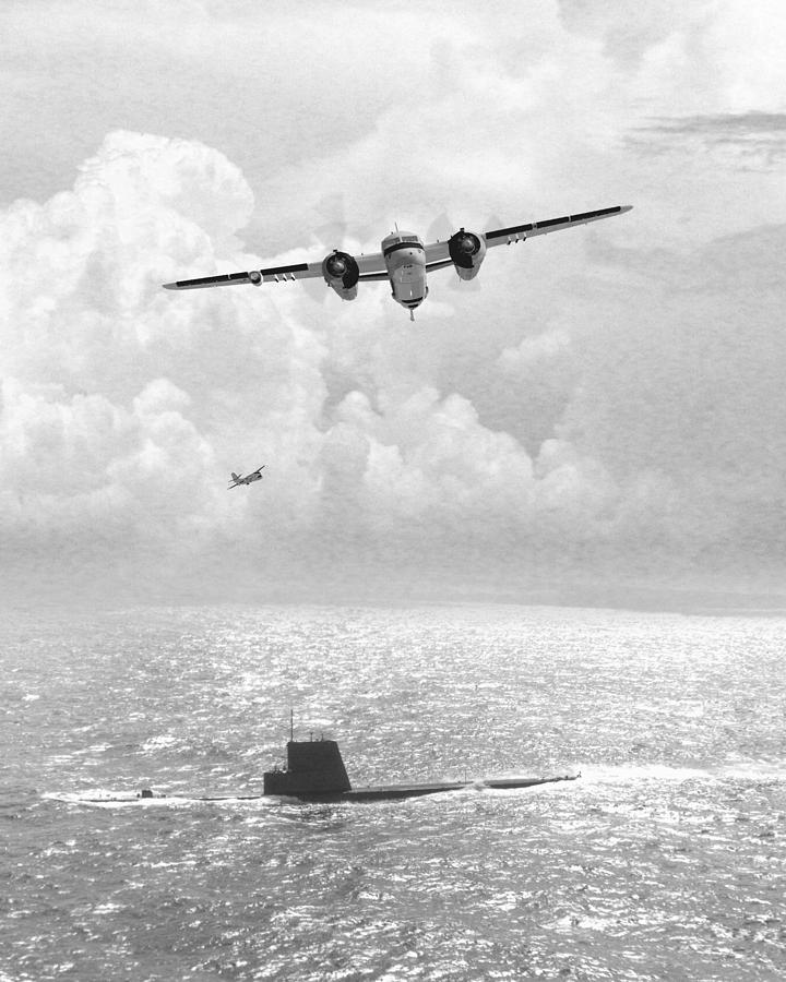 Aviation Digital Art - Stoof Over Sub by Mike Ray