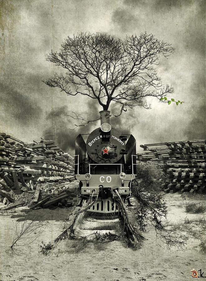Stop Digital Art by Alexander Kruglov
