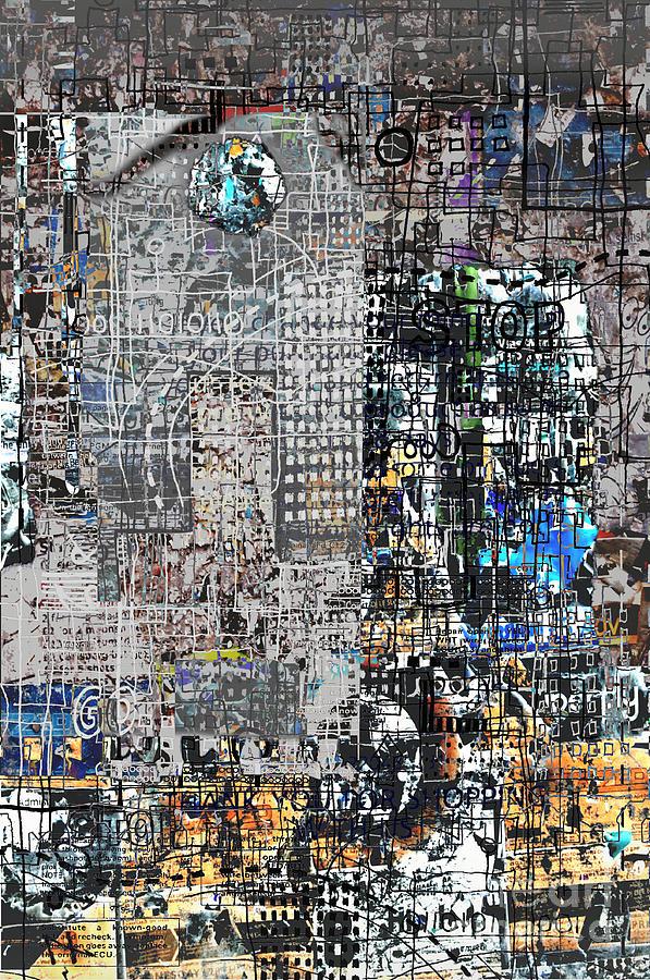 City Digital Art - Stop IIi  by Andy  Mercer