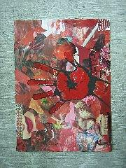 Red Painting - Stop by Lehua Ehukai
