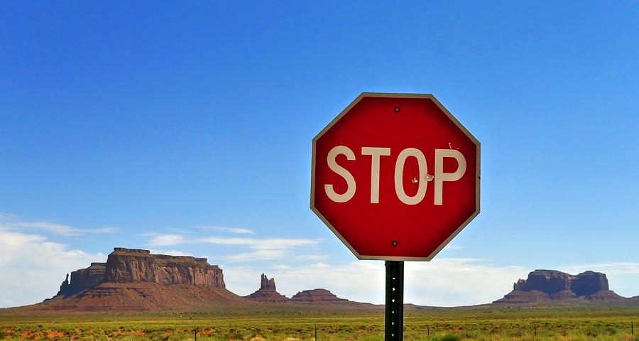 Stop Photograph - Stop by Skip Hunt