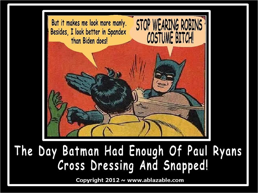 STOP WEARING ROBIN'S COSTUME by The GYPSY