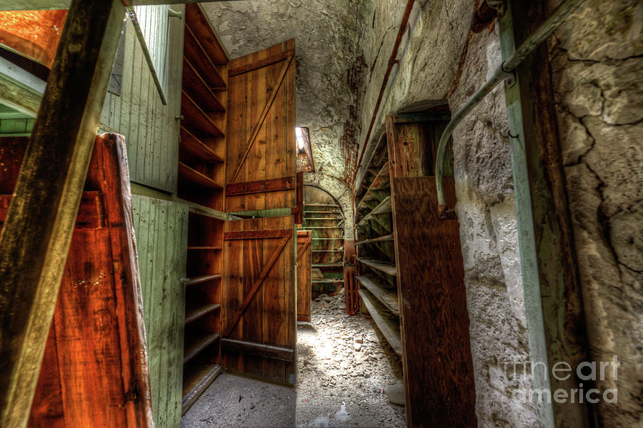 Storage Area Eastern State Penitentiary by Anthony Sacco
