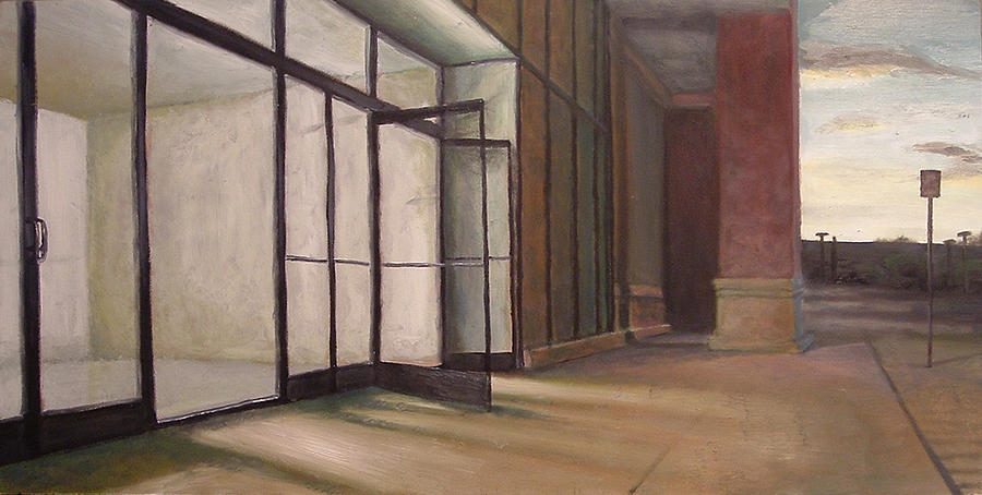 Store Painting - Store Front by Scott Lyle