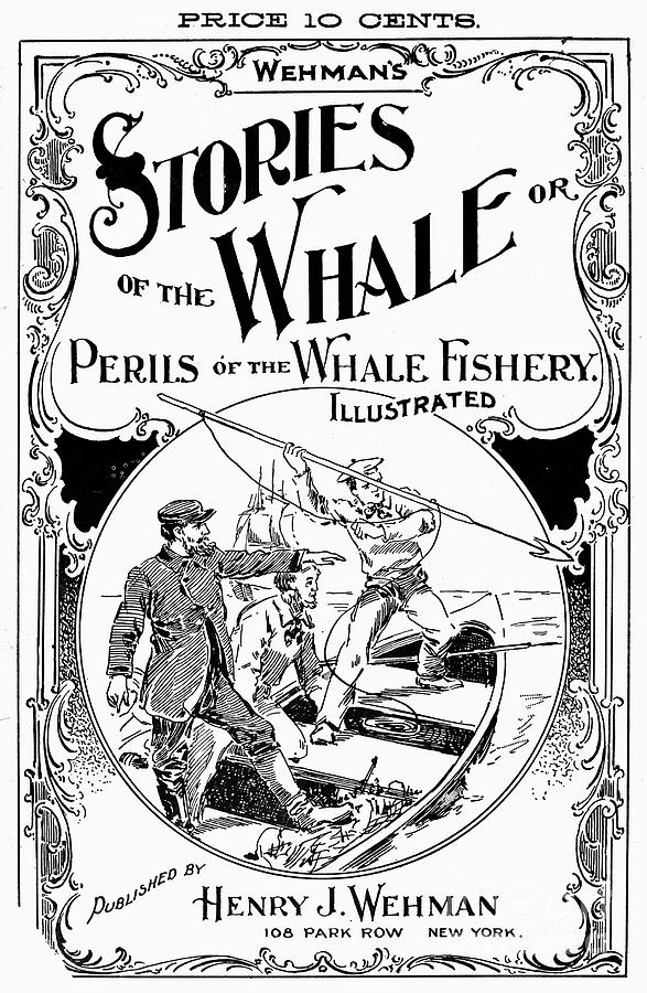19th Century Photograph - Stories Of The Whale by Granger