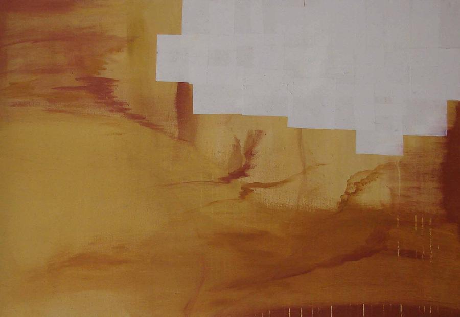 Gold Painting - Storm by Alexandre Battaglia