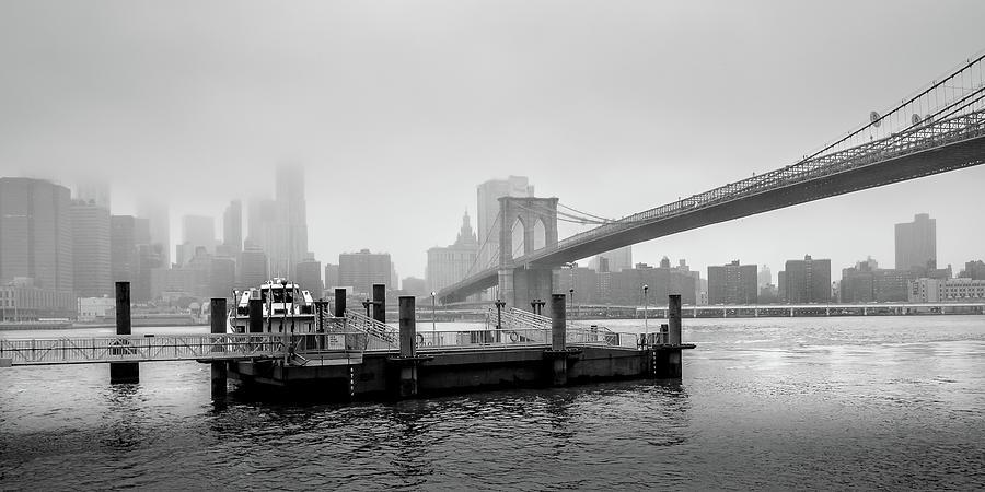 Brooklyn Photograph - Storm Brewing over Brooklyn by Geoff Eccles