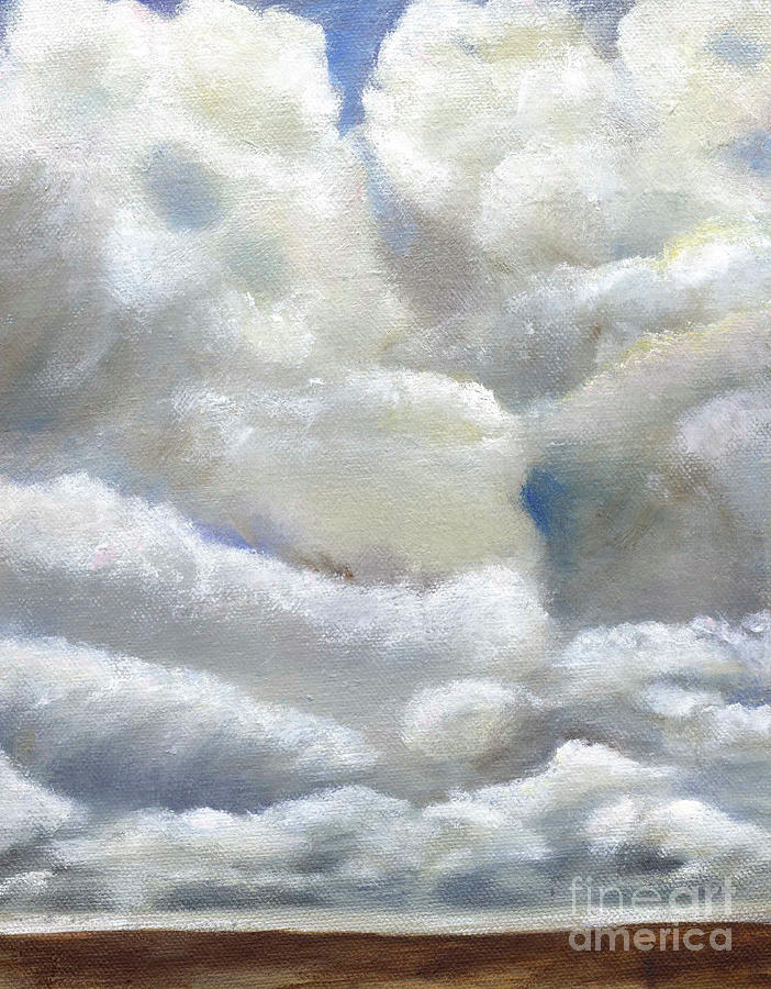 Storm Clouds by BARBARA J HART