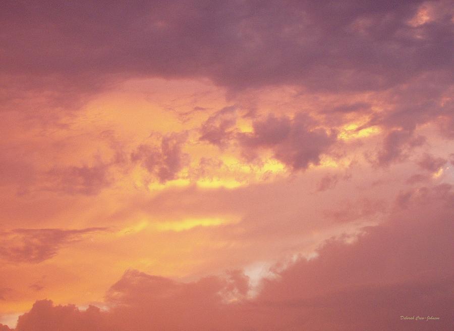 Clouds Photograph - Storm Clouds by Deborah  Crew-Johnson