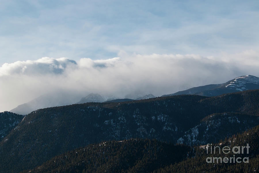Storm Clouds Gather On Pikes Peak Photograph