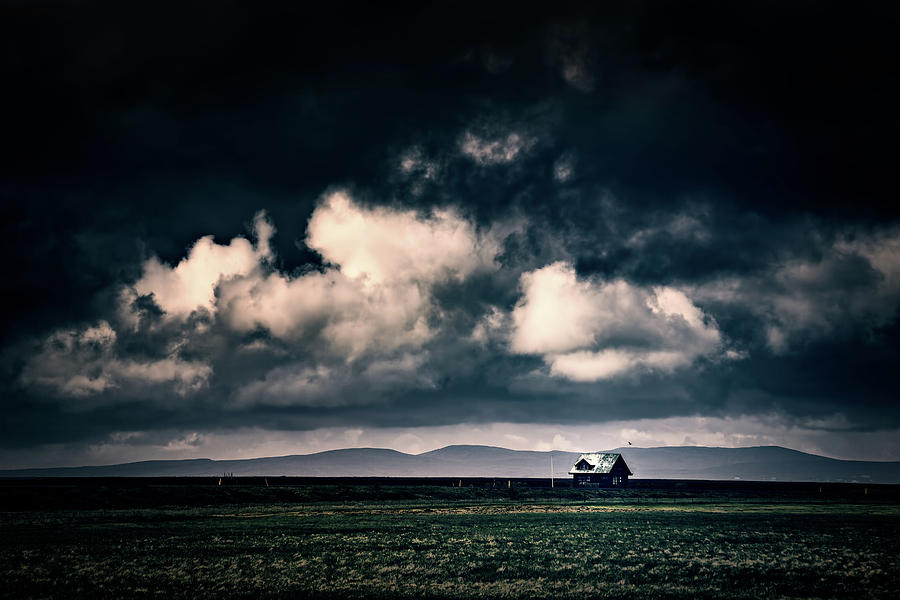 Storm Clouds in Iceland by Ian Good
