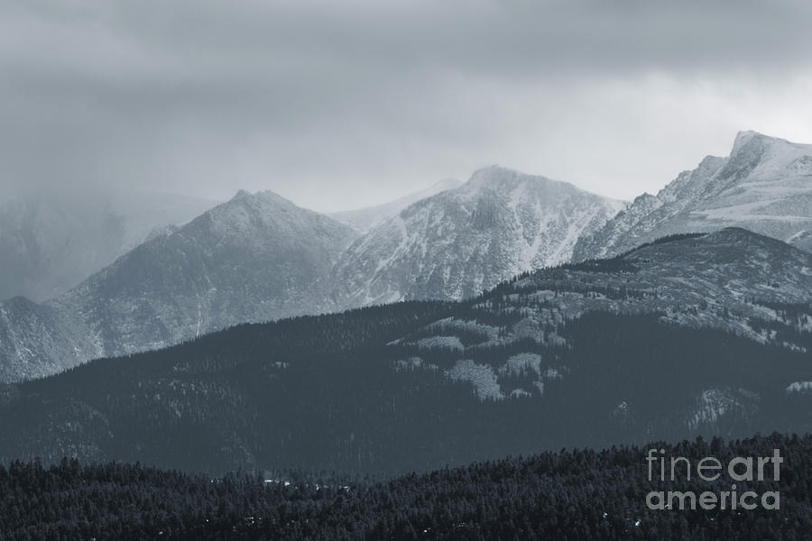Storm Clouds On Pikes Peak Highway Photograph