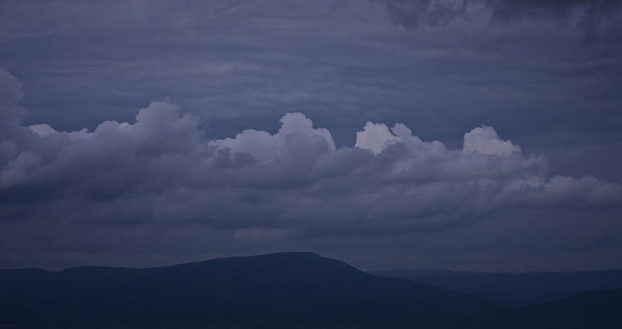 Roanoke Photograph - Storm Clouds Over The Valley by Teresa Mucha