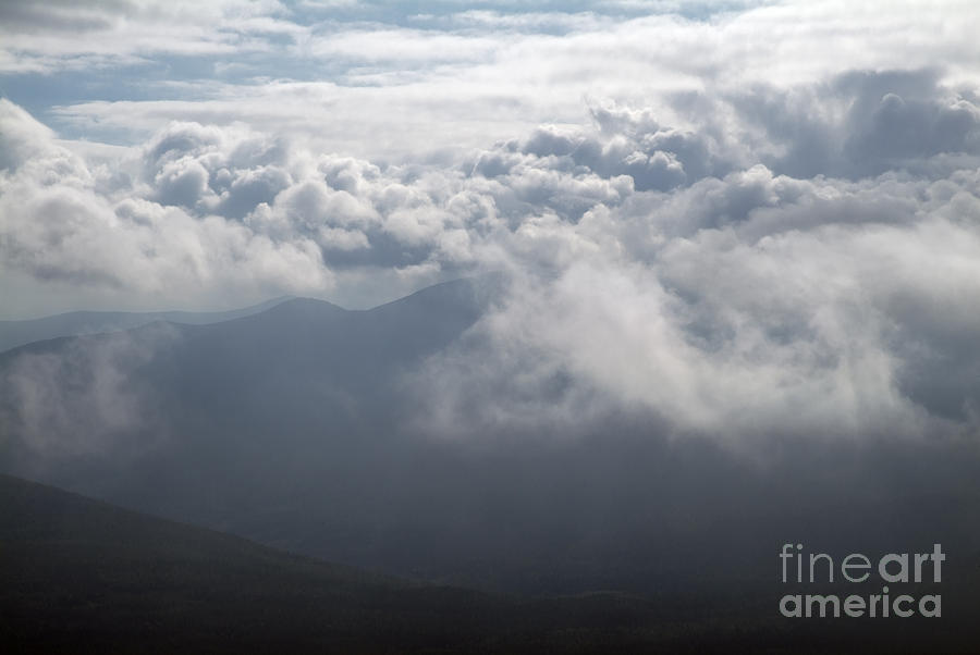 Storm Photograph - Storm Clouds - White Mountains New Hampshire by Erin Paul Donovan