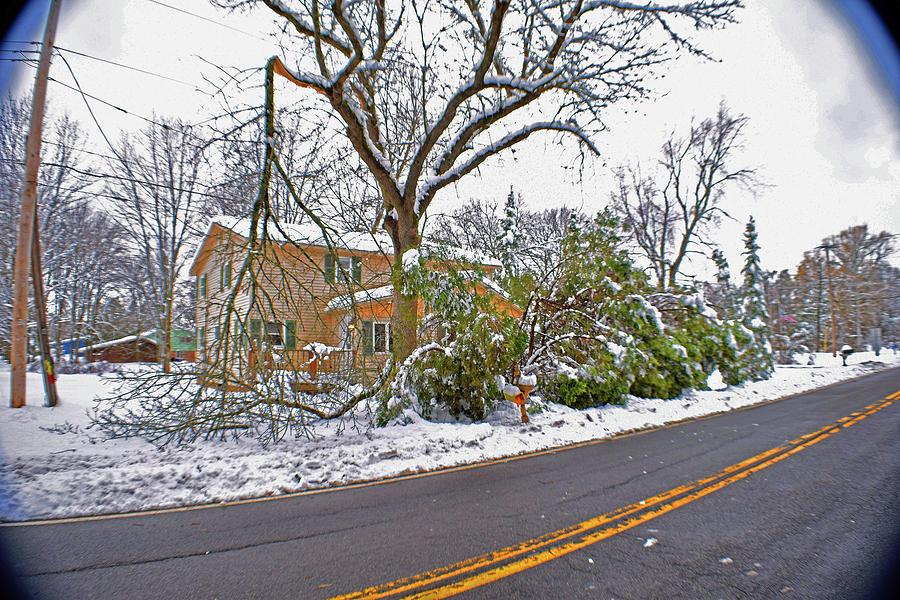 Storm Photograph - Storm Damage 1  by Joseph F Safin