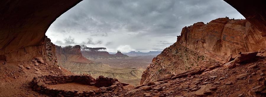 Stormy Day At The False Kiva Photograph