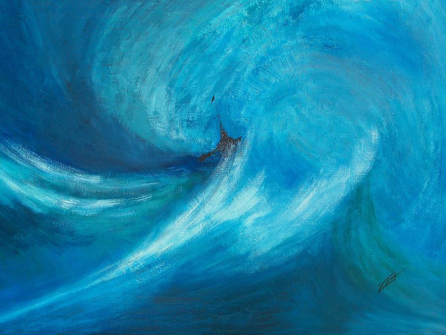 Landscape Painting - Storm by Dennis Vebert