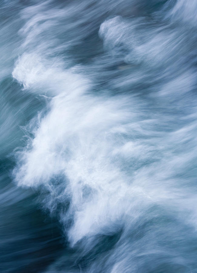 Wave Photograph - Storm Driven by Mike  Dawson
