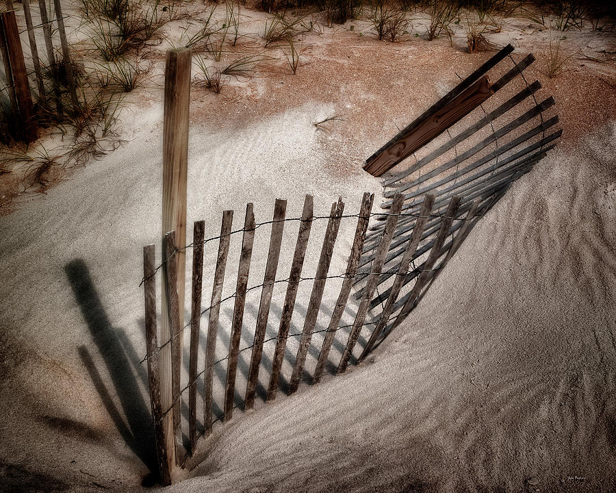 Storm Fence Series No. 2 by John Pagliuca
