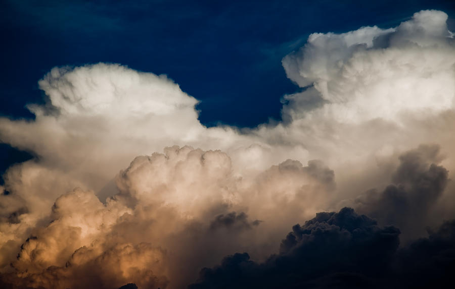 Clouds Photograph - Storm Front by Patrick  Flynn
