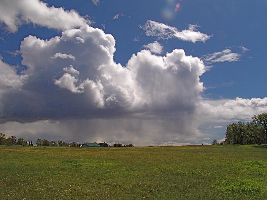 Digital Photograph - Storm Happening by John Norman Stewart