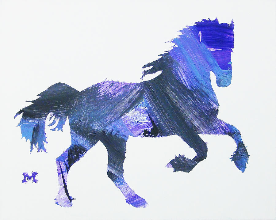 Horse Painting - Storm Horse by Candace Shrope