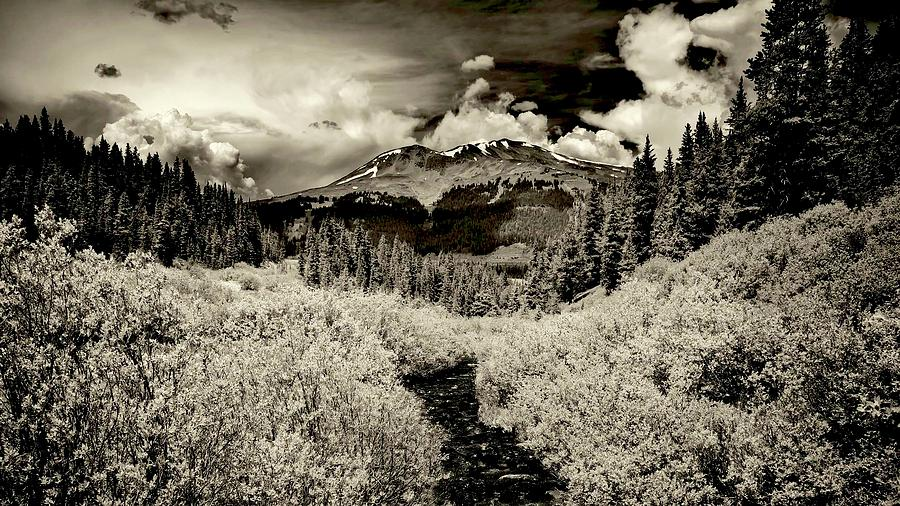 Nature Photograph - Storm In The Highlands, Summit County, Colorado by Flying Z Photography by Zayne Diamond