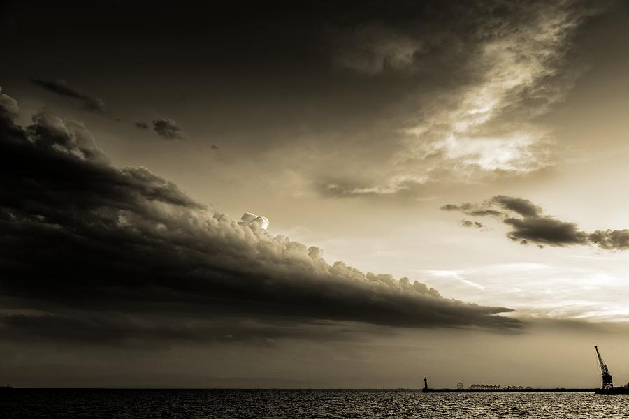 Weather Photograph - Storm Is Coming by Sotiris Filippou